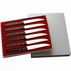 LINEA PALISSANDRO – scatola 6pz coltello costata/tavola