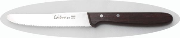 LINEA PALISSANDRO – coltello tavola ondulato 11 cm